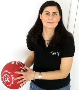 "Emilia Ispas, Director ""Project Unify"" Special Olympics Romania"