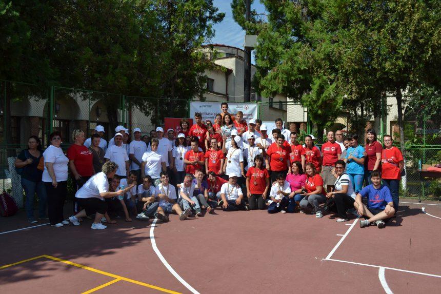 Tabără sportivă pentru tineri cu dizabilități intelectuale