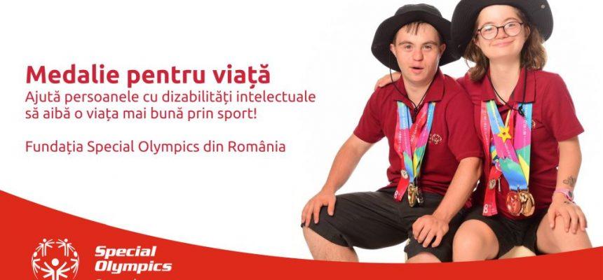Profi susține BRAVII sportivi Special Olympics