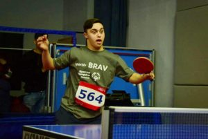 Special Olympics Romania, tenis de masa