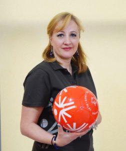 Oana Grecea, coordonator PR SPecial Olympics Romania