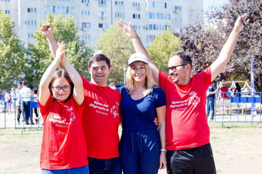 Nadia Comaneci strânge fonduri pe Galantom pentru sportivii cu dizabilități intelectuale de la Special Olympics Romania