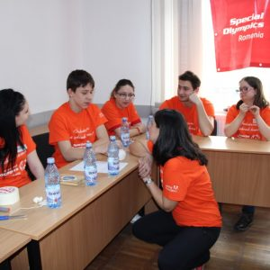 Prima întâlnire a Consiliului Tinerilor Special Olympics a avut loc la Târgoviște