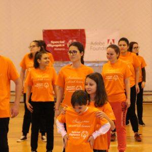 """""""Fun Day"""", ziua sportului Unificat Special Olympics la Târgoviște"""