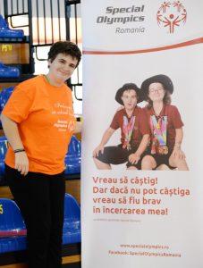 Ioana Ghitulescu, Special Olympics Romania