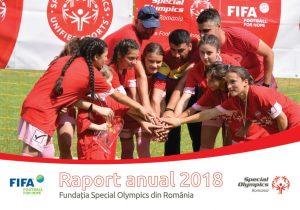 Special Olympics Romania, Raport anual 2018