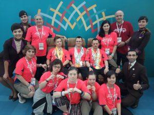 gimnastica Abu Dhabi medalii
