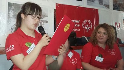 Flavia Ioana Cazan, de la elev la lider Special Olympics