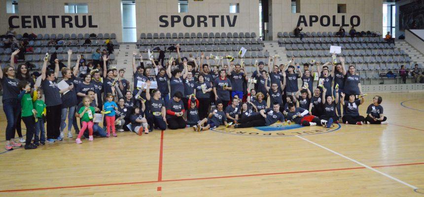 Sport unificat, prietenie și distracție cu voluntarii Metropolitan Life