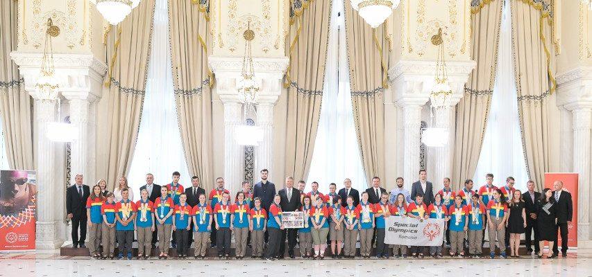 Sportivii Special Olympics felicitați de Președintele României