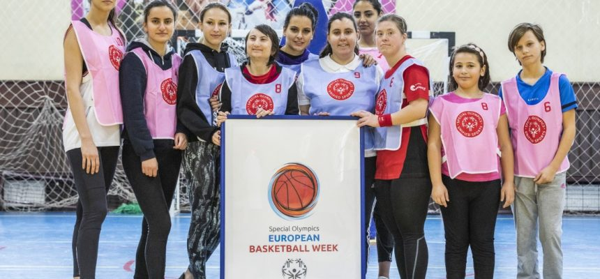 Fotografii și detalii de la turneul de Baschet Unificat Special Olympics