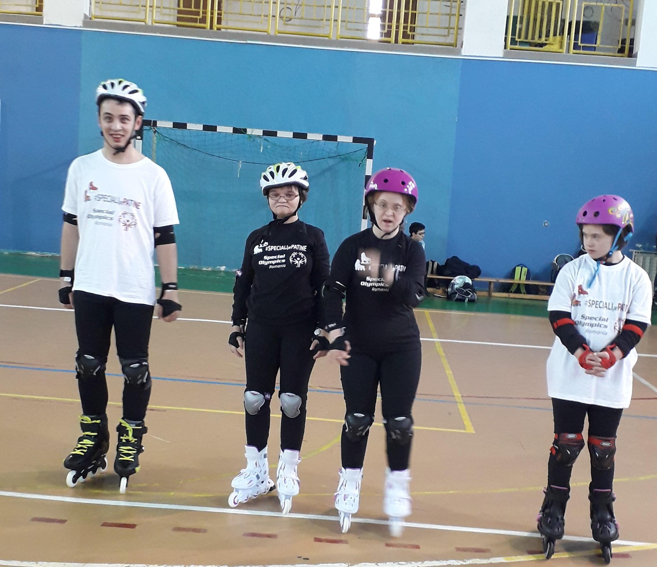 Special Olympics Romania, Speciali pe Patine, Cluj-Napoca (1)