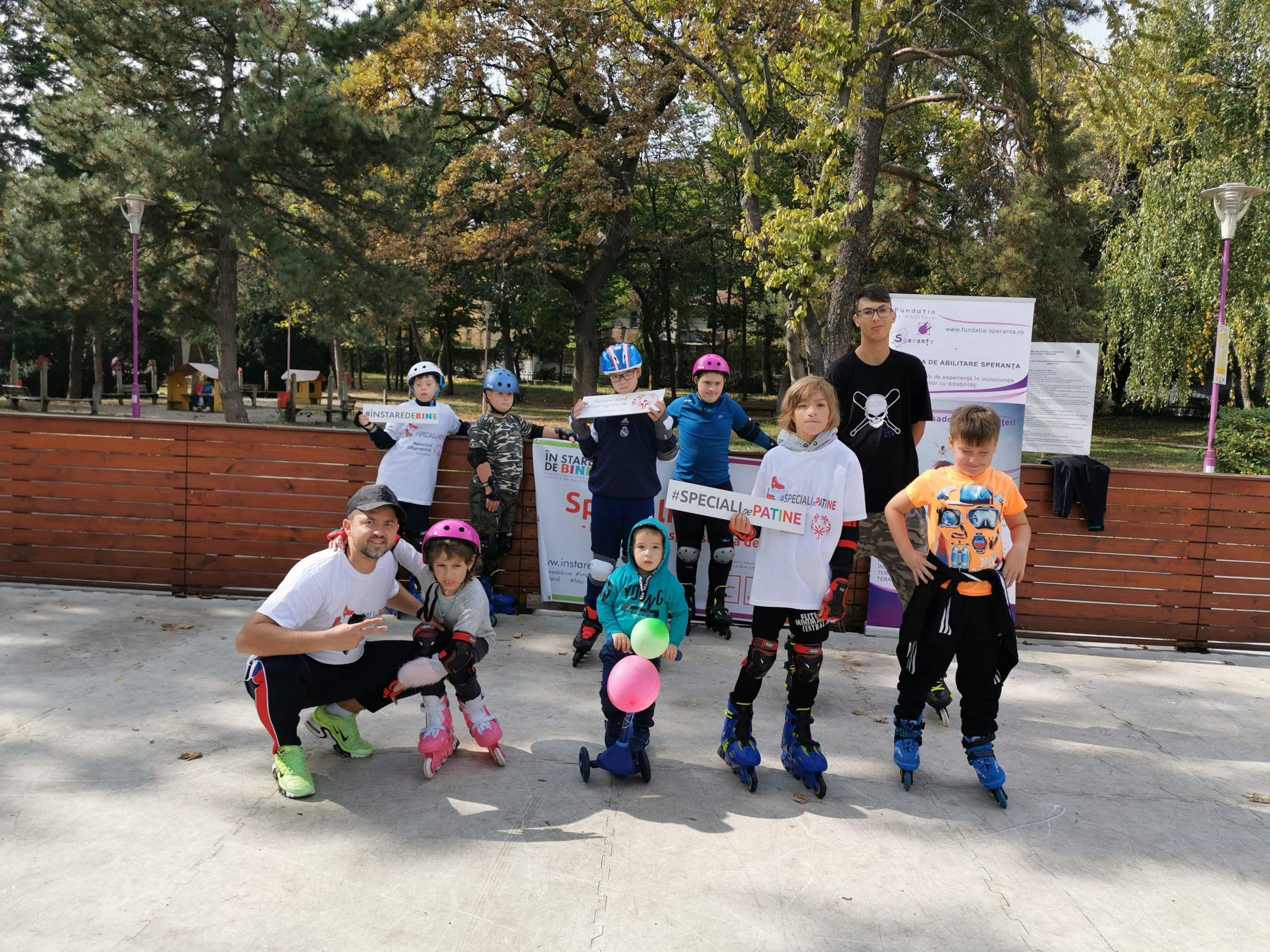 Speciali pe patine, Special Olympics, Timisoara (4)