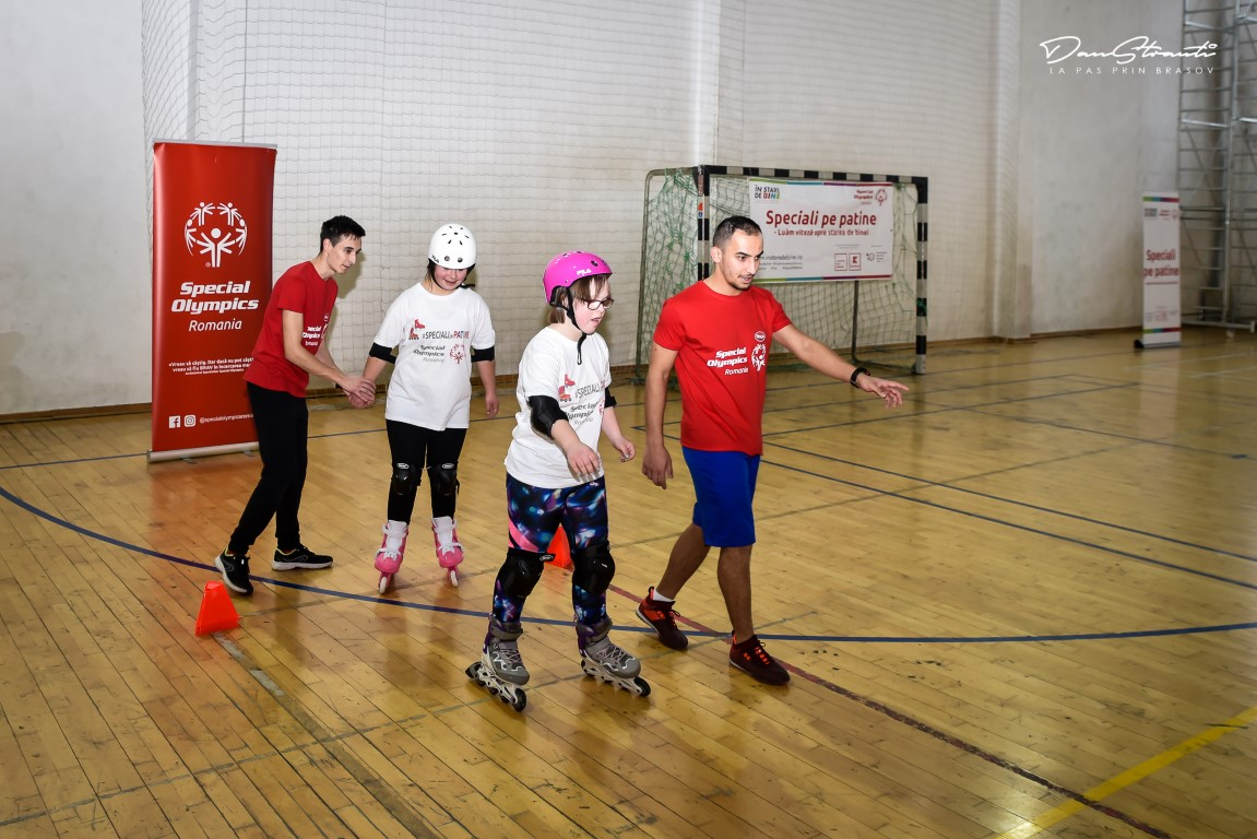 BV Special Olympics Ro, Speciali pe patine