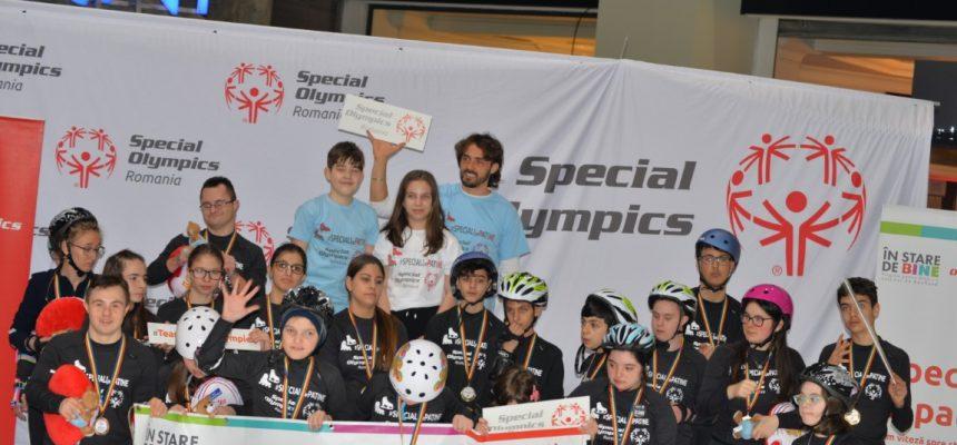 Primul Campionat Național de Patinaj Adaptat Special Olympics România s-a încheiat cu succes