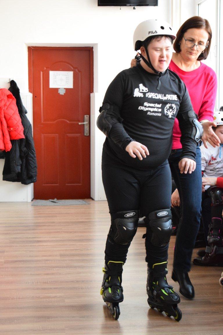 Speciali Pe Patine, Special Olympics Romania, Galati (9)