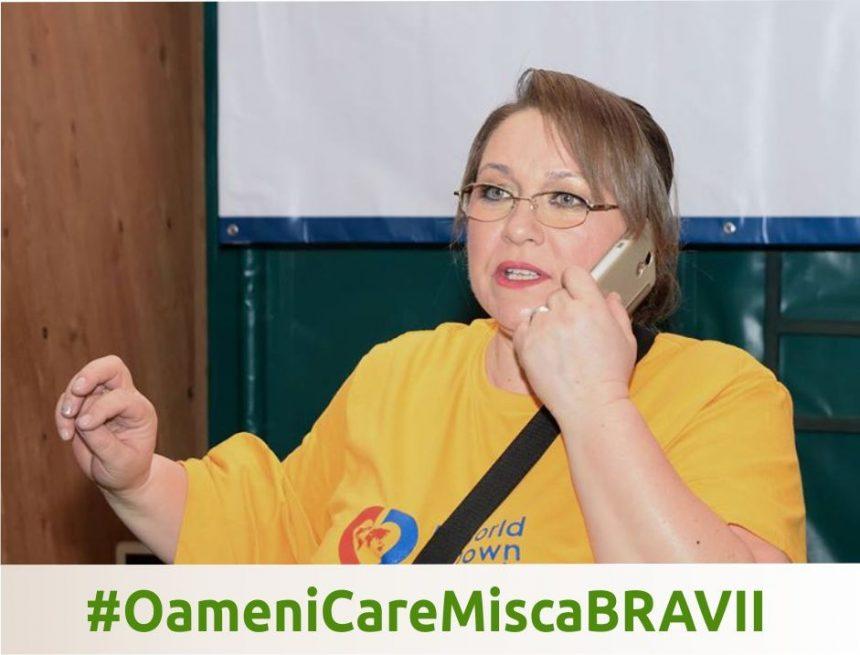 #OameniCareMiscaBRAVII – Georgeta Bucur, președinte Asociația Down Plus București