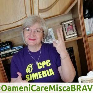 #OameniCareMiscaBRAVII – Mariana Niță,Consilier educativ Centrul de Pedagogie Curativă Simeria