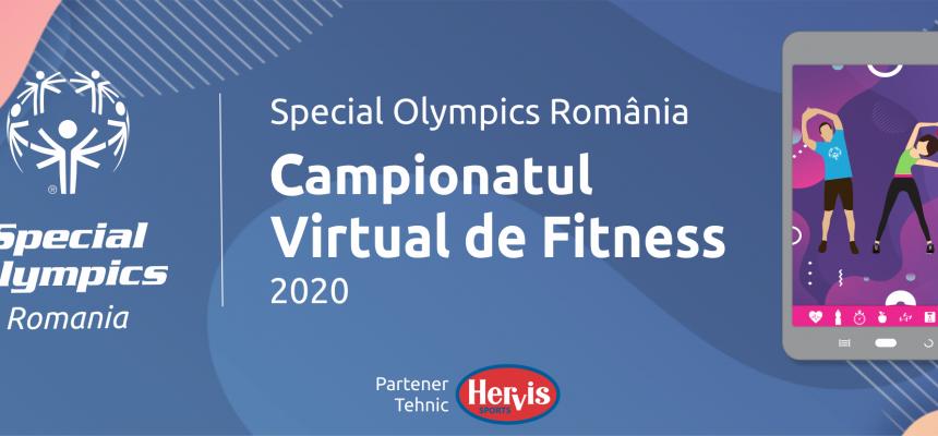 145 de sportivi Special Olympics România s-au înscris la Campionatul Virtual de Fitness dedicat persoanelor cu dizabilități intelectuale care începe pe 24 iunie