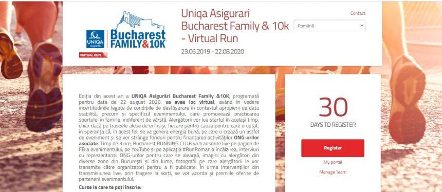 Aleargă pentru Special Olympics România la Bucharest Family & 10k!